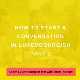 Start a conversation 2