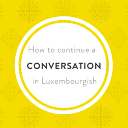 Luxembourgish conversation A2