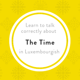 Luxembourgish Time Auer