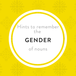 Luxembourgish gender nouns