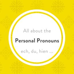 Luxembourgish personal pronouns