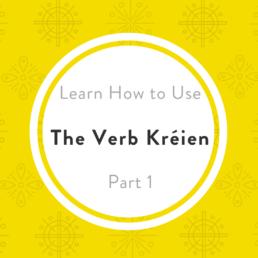 Luxembourgish verbs kréien