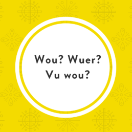 Luxembourgish question words wou wuer
