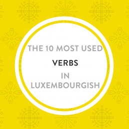 10 most used verbs