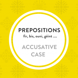 Luxembourgish free lesson accusative prepositions