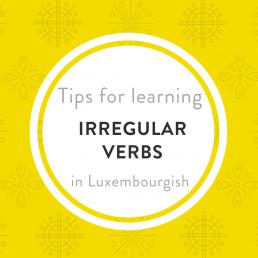Luxembourgish irregular verbs