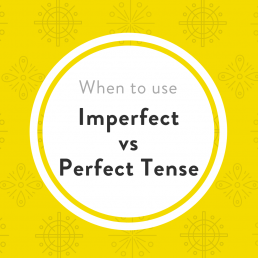 Imperfect Perfect Tense Luxembourgish