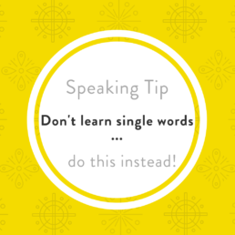 Luxembourgish speaking tip