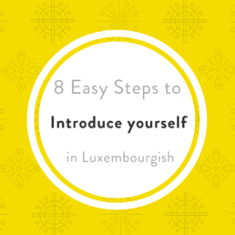 Introduce in Luxembourgish
