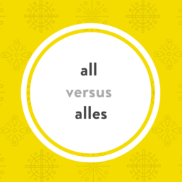 Luxembourgish lesson all alles
