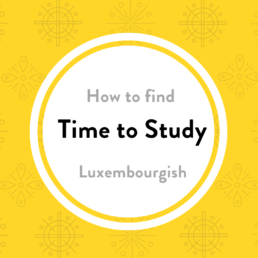 find time study Sproochentest